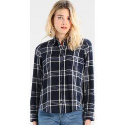 Koszule wiązane damskie: Abercrombie & Fitch PLAID STRIPES DUOFOLD Koszula navy