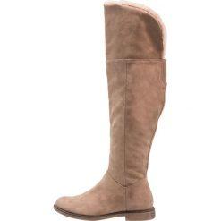 Anna Field Muszkieterki taupe. Szare buty zimowe damskie marki Anna Field, z materiału. W wyprzedaży za 135,85 zł.