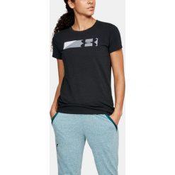 Under Armour Koszulka damska SPORTSTLE BRANDED GRAPHIC czarna r. XS (1305578-001). T-shirty damskie marki Under Armour, xs. Za 59,00 zł.
