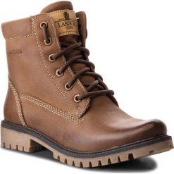 Trapery LASOCKI - WI20-ASPEN-02 Brązowy 2. Brązowe buty zimowe damskie Lasocki, z nubiku. Za 199,99 zł.