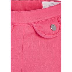 Mayoral - Spodnie dziecięce 68-98 cm. Różowe rurki dziewczęce marki Mayoral, z bawełny, z okrągłym kołnierzem. Za 89,90 zł.