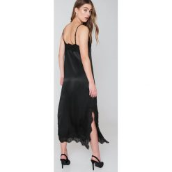 Sukienki hiszpanki: Bardot Sukienka na ramiączkach Zoe – Black
