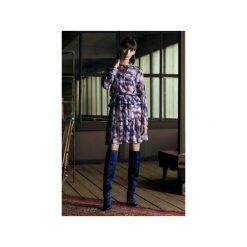 Sukienka CHLOE z szyfonu. Niebieskie sukienki na komunię marki JO-LI, s, z poliesteru, na ramiączkach. Za 600,00 zł.