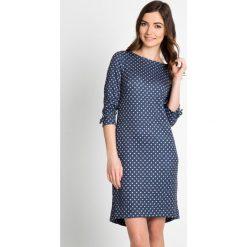 Sukienki: Miękka sukienka w kropki QUIOSQUE