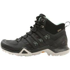 Buty zimowe damskie: adidas Performance TERREX SWIFT R2 MID GTX  Buty trekkingowe core black/ash green