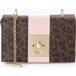 Torebki klasyczne damskie: Calvin Klein - Damska torebka na ramię, brązowy