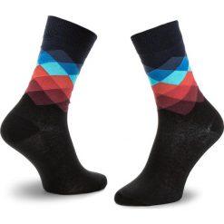 Skarpety Wysokie Unisex HAPPY SOCKS - FD01-069 Czarny Kolorowy. Czerwone skarpetki męskie marki Happy Socks, z bawełny. Za 34,90 zł.