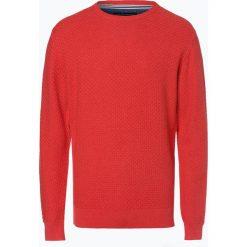 Nils Sundström - Sweter męski, pomarańczowy. Brązowe swetry klasyczne męskie Nils Sundström, l, z bawełny. Za 179,95 zł.