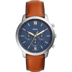 Zegarek FOSSIL - Neutra Chrono FS5453  Brown/Silver. Różowe zegarki męskie marki Fossil, szklane. Za 599,00 zł.