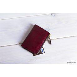 Skórzany portfel MIDI. Szare portfele damskie Pakamera. Za 180,00 zł.