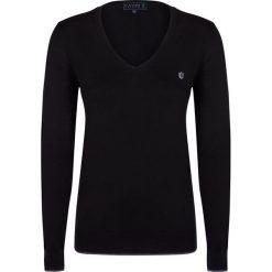 """Swetry klasyczne damskie: Sweter """"Air"""" w kolorze czarnym"""