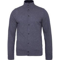 Swetry rozpinane męskie: Kardigan CONTE OF FLORENCE RUBINO Szary