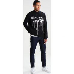 Tiger of Sweden Jeans BUCKY Bluza black. Czarne kardigany męskie marki Tiger of Sweden Jeans, m, z jeansu. W wyprzedaży za 431,20 zł.