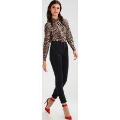 Noisy May NMCARA DONNA MOM  Jeansy Slim Fit black. Czarne jeansy damskie marki Noisy May, z bawełny. W wyprzedaży za 143,20 zł.