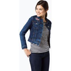 Bomberki damskie: Aygill's Denim - Damska kurtka jeansowa, niebieski