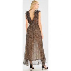 Długie sukienki: MARCIANO LOS ANGELES CHARMING LONG DRESS Długa sukienka brown
