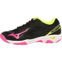 Buty sportowe damskie: Mizuno WAVE GHOST Obuwie do piłki ręcznej black/pink glo/safety yellow