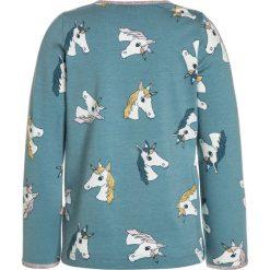 Bluzki dziewczęce bawełniane: Småfolk WITH UNICORN Bluzka z długim rękawem stone blue
