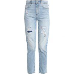 GStar 3301 HIGH STRAIGHT 90S Jeansy Straight Leg lt aged restored 212. Szare jeansy damskie marki G-Star. Za 699,00 zł.