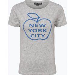Franco Callegari - T-shirt damski, szary. Zielone t-shirty damskie marki Franco Callegari, z napisami. Za 49,95 zł.