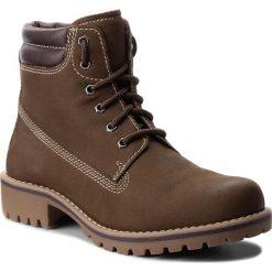 Trapery MARCO TOZZI - 2-26248-31 Khaki/Mocca 720. Brązowe buty zimowe damskie Marco Tozzi, z nubiku. W wyprzedaży za 199,00 zł.