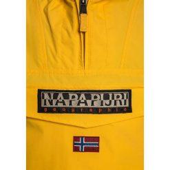 Napapijri RAINFOREST  Kurtka Outdoor yellow. Niebieskie kurtki chłopięce marki Napapijri, z bawełny. W wyprzedaży za 439,20 zł.