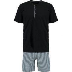 Piżamy męskie: Schiesser KURZ Piżama anthrazit