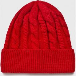 Medicine - Czapka Basic. Czerwone czapki zimowe damskie MEDICINE, z dzianiny. Za 59,90 zł.