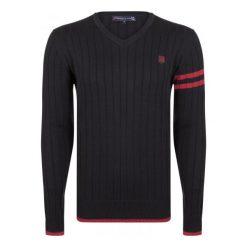Giorgio Di Mare Sweter Męski M Czarny. Czarne swetry klasyczne męskie marki Giorgio di Mare, m. W wyprzedaży za 169,00 zł.