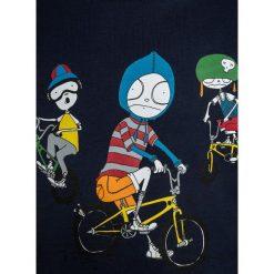 T-shirty chłopięce: Little Marc Jacobs KURZARM  Tshirt z nadrukiem nacht