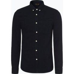 Review - Koszula męska, niebieski. Szare koszule męskie marki Review, l, button down, z długim rękawem. Za 119,95 zł.