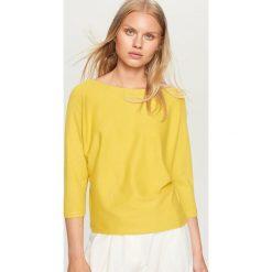 Sweter - Zielony. Zielone swetry klasyczne damskie marki Isla Ibiza Bonita, s, z bawełny. Za 49,99 zł.