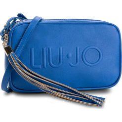 Torebka LIU JO - S Crossbody N18110 E0300 Nautical Blue 94050. Niebieskie listonoszki damskie marki Liu Jo. W wyprzedaży za 299,00 zł.