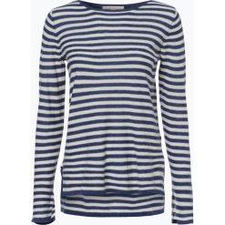 Esprit Casual - Sweter damski z dodatkiem lnu, niebieski. Niebieskie swetry klasyczne damskie Esprit Casual, s. Za 129,95 zł.