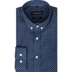 Koszula MICHELE KDWR000283. Czarne koszule męskie na spinki marki TOM TAILOR DENIM, l, z bawełny, button down, z długim rękawem. Za 229,00 zł.