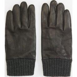 Rękawiczki skórzane - Czarny. Czarne rękawiczki męskie marki Reserved. Za 119,99 zł.