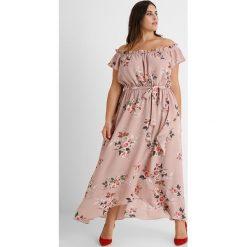 Długie sukienki: City Chic DRESS ROSE PLAY Długa sukienka rose