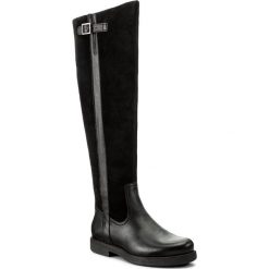 Muszkieterki LASOCKI - RIKA-06 Czarny. Czarne buty zimowe damskie Lasocki, ze skóry. W wyprzedaży za 265,99 zł.