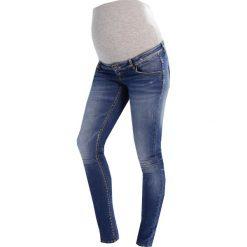 MAMALICIOUS MLBIRDIE SLIM Jeans Skinny Fit medium blue denim. Niebieskie jeansy damskie relaxed fit MAMALICIOUS, z bawełny. W wyprzedaży za 168,35 zł.