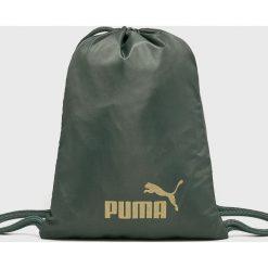 Puma - Plecak. Szare plecaki damskie Puma, z poliesteru. W wyprzedaży za 69,90 zł.