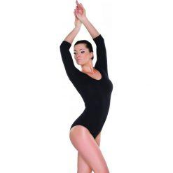 Stroje jednoczęściowe: Shepa Kostium gimnastyczny damski body bawełna Shepa  roz. 44