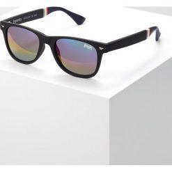 Okulary przeciwsłoneczne damskie aviatory: Superdry SUPERFARER Okulary przeciwsłoneczne black