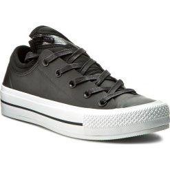 Tenisówki CONVERSE - Ctas Ma-1 Se Ox 153636C Black/Black/White. Czarne tenisówki męskie Converse, z gumy. W wyprzedaży za 249,00 zł.