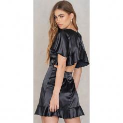 Lioness Sukienka Garden Party - Black. Czarne sukienki na komunię Lioness, na imprezę, z poliesteru, z falbankami. W wyprzedaży za 85,19 zł.