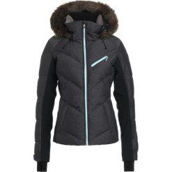 Roxy SNOWSTORM Kurtka snowboardowa true black. Białe kurtki sportowe damskie marki Roxy, l, z nadrukiem, z materiału. Za 1519,00 zł.