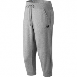 New Balance WP81572AG. Szare spodnie dresowe damskie marki New Balance, xs, z dresówki. W wyprzedaży za 129,99 zł.