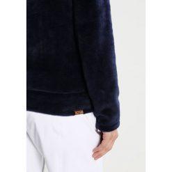 Roxy ESKIMO Kurtka z polaru peacoat. Niebieskie kurtki sportowe damskie marki Roxy, xs, z materiału. W wyprzedaży za 197,45 zł.