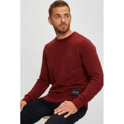 Calvin Klein - Bluza. Szare bejsbolówki męskie Calvin Klein, l, z bawełny, bez kaptura. Za 399,90 zł.