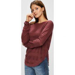 Only - Sweter. Szare swetry klasyczne damskie marki ONLY, s, z bawełny, casualowe, z okrągłym kołnierzem. W wyprzedaży za 84,90 zł.
