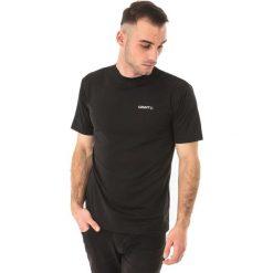 Craft Koszulka męska Prime Tee czarna r. M (1992051-9999). Białe koszulki sportowe męskie marki Craft, m. Za 63,76 zł.